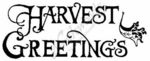 J2360 Harvest Greetings