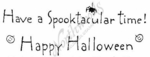 J2610 Simple Have A Spooktacular Time