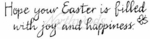 J2675 Calligraphy Hope Your Easter