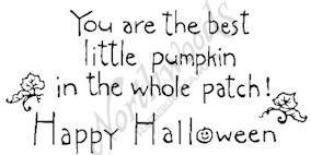 J4408 Simple You Are The Best Little Pumpkin