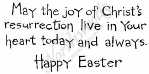J6537 Simple May The Joy Of Christ's