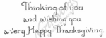 J8717 Vintage Thinking Of You And Wishing-HT