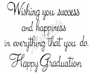 M024 Wishing You Success At Graduation
