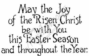 M2165 May The Joy Of The Risen Christ