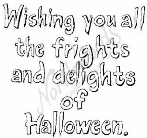 M4796 Open Wishing You All The Frights