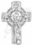 M6054 First Communion Cross