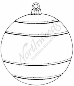 M6320 Empty Round Ornament