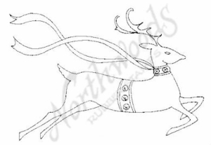 M6821 Contemporary Reindeer