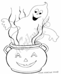 M7536 Ghost In Smiling Cauldron