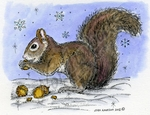 M8840 Nora's Winter Squirrel