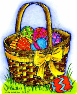M8997 Colleen's Easter Basket