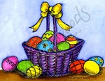 M9707 Maddox's Easter Basket And Eggs