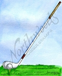 M9784 Golf Tee With Iron