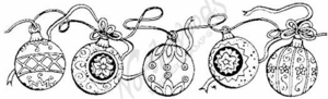 N1922 String Of Ornaments