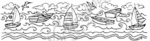 N3351 Sailboat Border