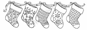 N3856 String Of Stockings
