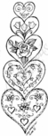 N4536 Stacking Floral Hearts
