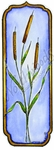 N8698 Tall Framed Cattail