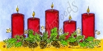 O10113 Holiday Candles