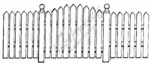 O539 Picket Fence