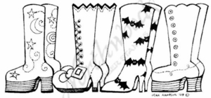 O7011 Witches' Boot Border
