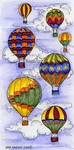 O9114 Hot Air Balloons