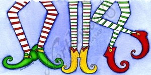 O9886 Maddox's Three Elf Legs