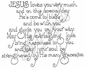 P072 Jesus Loves You Very Much