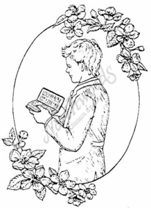 P1004 Boy With Prayer Book