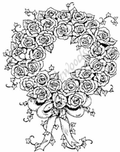 P1231 Rose Wreath