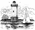 P1615 Lighthouse and Sailboat