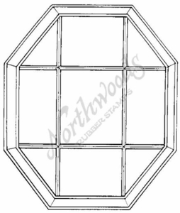 P1680 Octagon Window