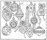 P1921 Old Fashioned Ornaments