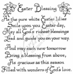 P2404 Fancy Easter Blessings