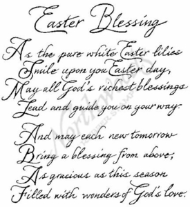 P2492 Easter Blessings