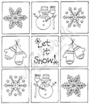 P2901 Let It Snow Grid