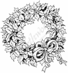 P2940 Megan's Holly Wreath