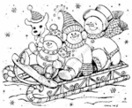 P3914 Snowmen and Dog Sled