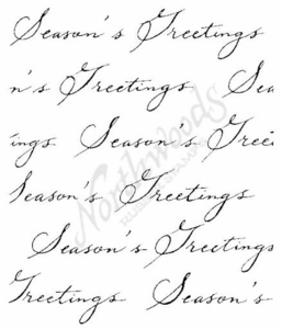 P4443 Script Season's Greetings Background