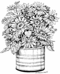 P4742 Sunflower Planter