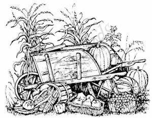 P787 Harvest Wheelbarrow