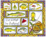 P8531 I'd Rather Be Fishing Sampler