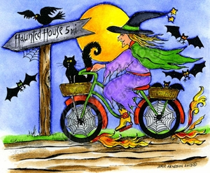 P9155 Witch On Bike