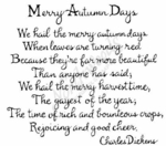 PP4418 Bold Curly Merry Autumn Days