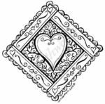 PP4534 Diamond Love Heart