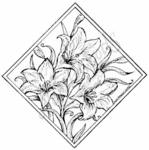 PP4574 Diamond Easter Lily