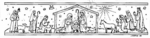 Q3921 Nativity Scene Border