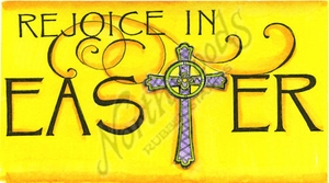 O9441 Rejoice In Easter Cross