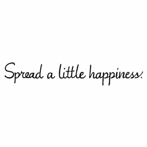 Spread A Little Happiness - DD10459