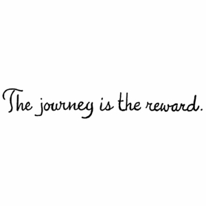 The Journey Is The Reward - DD10455